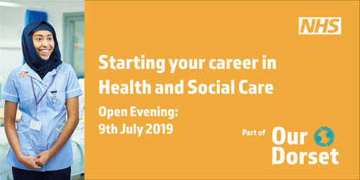 Starting your career in Health and Social Care - Open Evening