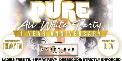 PURE!! KOLOSSAL FRIDAYS ONE YEAR ANNIVERSARY ALL WHITE AFFAIR
