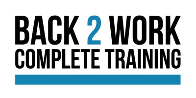 Information, Advice and Guidance session for back to work training