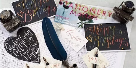 Modern Calligraphy with Jane Lappage tickets