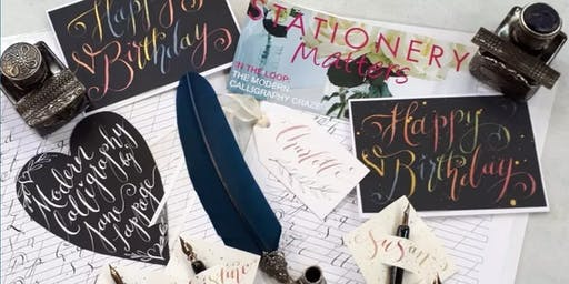 Modern Calligraphy with Jane Lappage