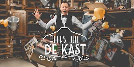 Theatershow: 'Alles uit de kast!' tickets