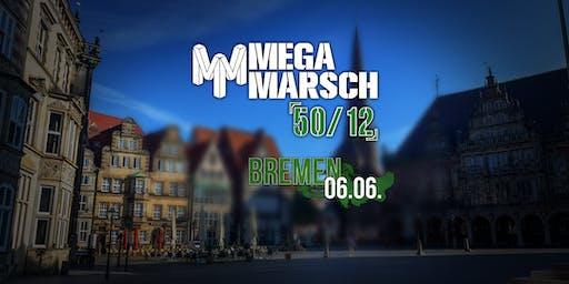 Megamarsch 50/12 Bremen 2020