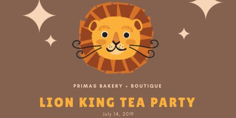 Lion King Tea Party tickets