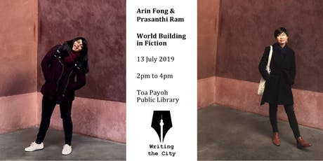 Writing the City - World Building in Fiction with Arin Fong & Prasanthi Ram tickets