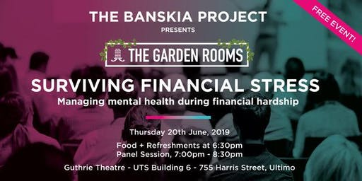 Surviving Financial Stress: Maintaining positive mental health amongst financial hardship.