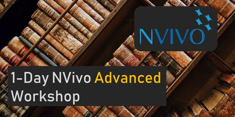 Melbourne - NVivo 12 for Windows - Advanced One Day Workshop tickets