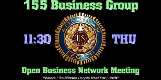 155 Business Group Networking and Lunch Meeting