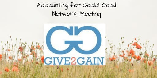 Accounting for Social Good Network Meeting Hosted by Stockport Library