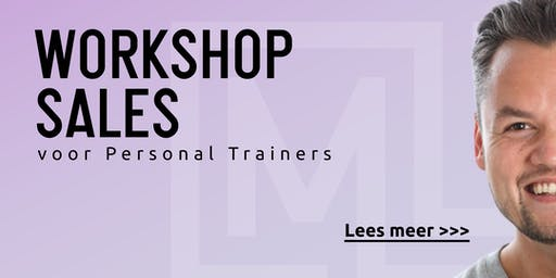Hands on Sales Training voor Personal Trainers