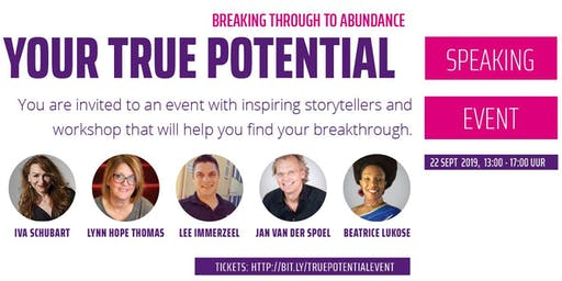 Rise up to your full true potential - breaking through to abundance