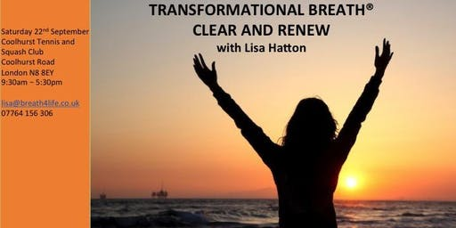Transformational Breath® - Full Day - Clear and Renew