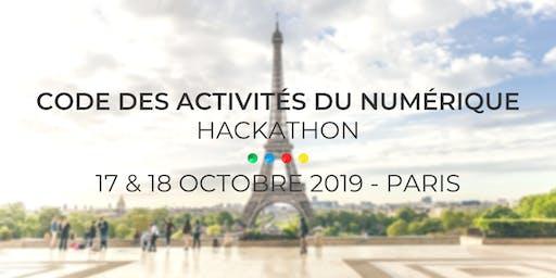 Hackathon de l'ADIJ - Code des Activités du Numérique