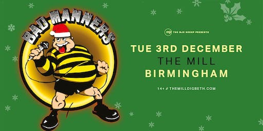 Bad Manners, Christmas Tour 2019! (The Mill, Birmingham)