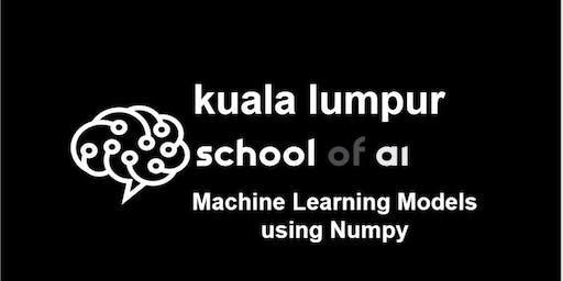 Machine Learning Models Using Numpy - Level Intermediate
