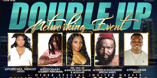 """""""Double Up""""  Networking Event"""