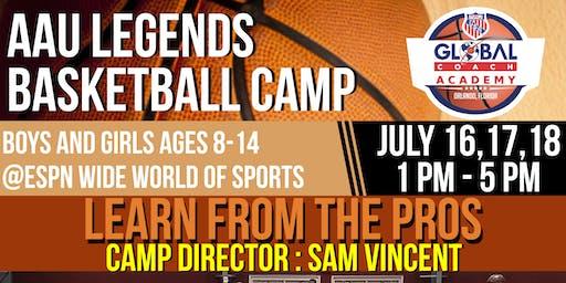 2019 AAU Legends Camp