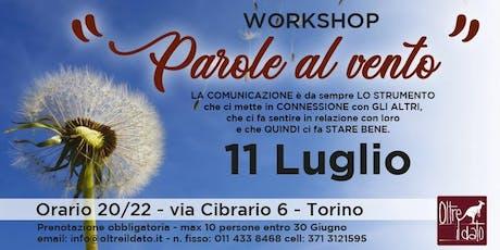 Workshop - Parole al Vento  biglietti