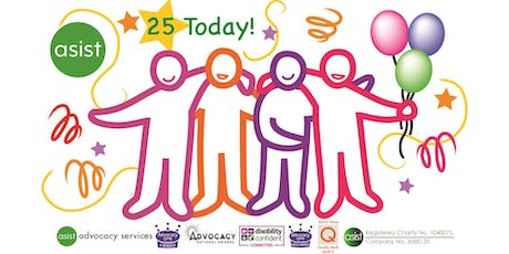Asist's Birthday Event - Celebrating 25 years of advocacy tickets