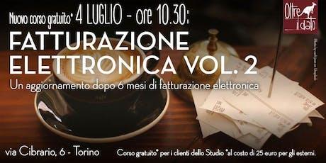 Fatturazione Elettronica vol.2 tickets