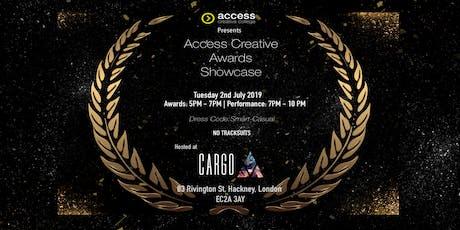 Access Creative Awards Showcase tickets