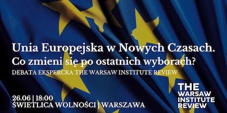 Spotkania z Geopolityką: Unia Europejska w Nowych Czasach tickets