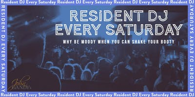 Resident DJ Every Saturday