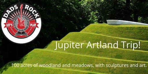 Dads and kids trip to Jupiter Artland