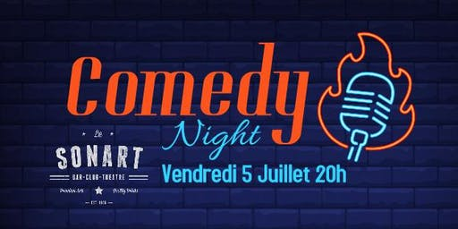 Comedy Night Pigalle