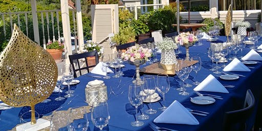 Backyard Winemaker Dinner featuring Tooth and Nail Winery