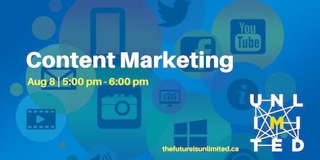 Content Marketing (Webinar) tickets