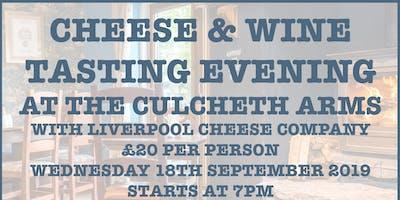 Cheese & Wine Tasting Evening