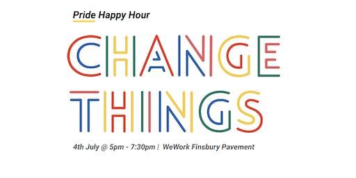 Flatiron x WeWork x OutinTech -  Pride Changemakers: Happy Hour  | London
