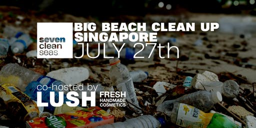 Big Beach Clean Up - by Seven Clean Seas X LUSH Soaps