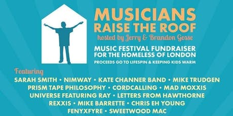 Musicians Raise the Roof tickets