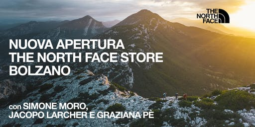 NUOVA APERTURA THE NORTH FACE STORE BOLZANO