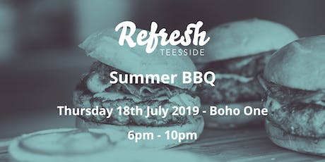 Refresh Teesside Summer BBQ tickets