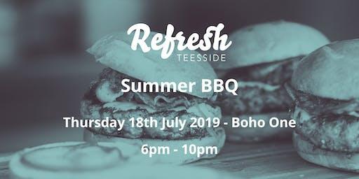 Refresh Teesside Summer BBQ