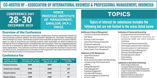 International Conference Of Business Management And Information Technology