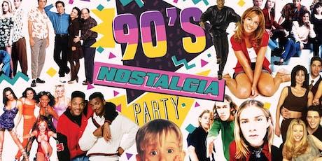90s Nostalgia Party tickets