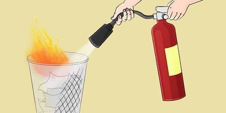 Fire Extinguisher Training tickets
