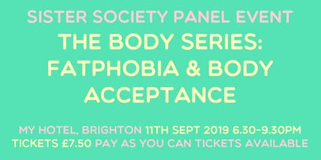 Body Series: Fatphobia & Body Acceptance tickets