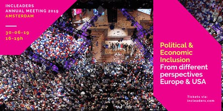INCLEADERS: Political and Economic Inclusion From Europe & USA perspectives  tickets