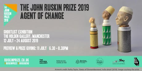 The John Ruskin Prize 2019: Agent of Change | Private View & Prize Giving tickets