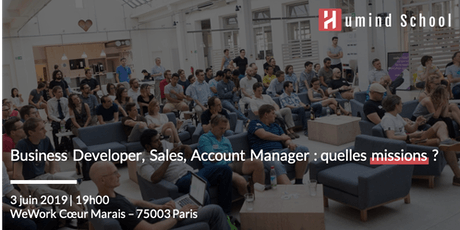 Business Developer, Sales, Account Managers - quelles missions ? billets