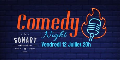 Comedy Night Pigalle billets