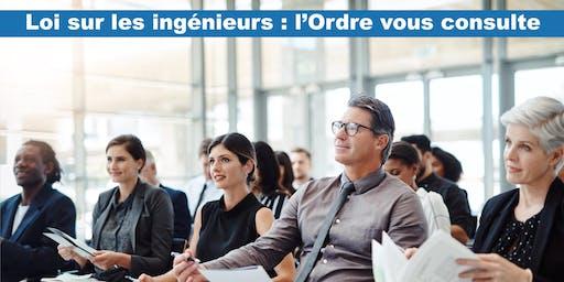 Consultation des membres – Loi sur les ingénieurs (Québec)