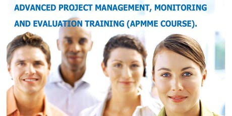 Advanced Project Management, Monitoring& Evaluation and Ms Project Training tickets