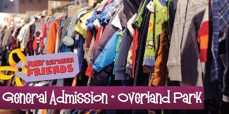 General Admission (Free) | Just Between Friends Overland Park Fall Sale tickets
