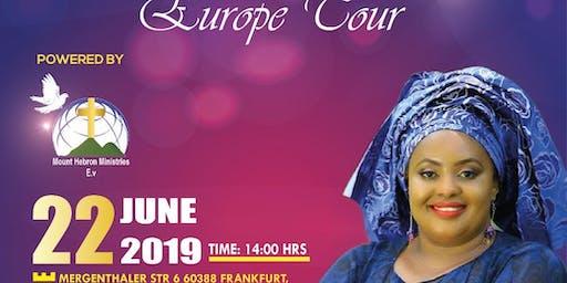 Ruth Wamuyu European Gospel Tour